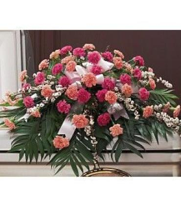 Carnation Casket Spray