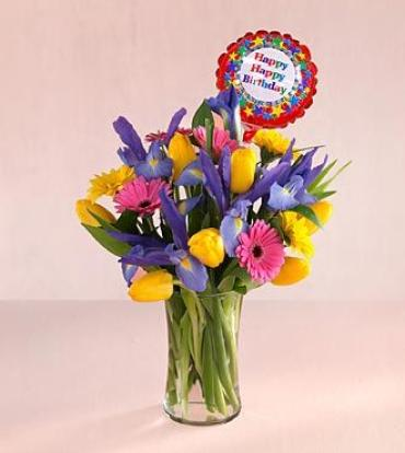 Let\'s Celebrate Happy Birthday Bouquet