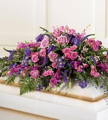 Blanket of Flower Casket Spray